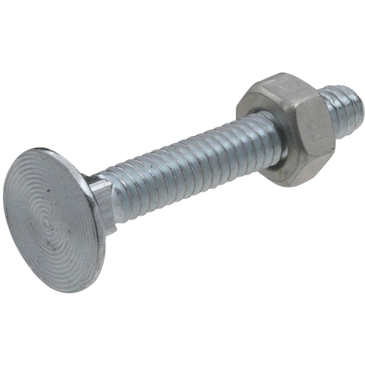 National 1/4 In. x 1-3/4 In. Zinc Carriage Bolt (12 Ct.) Image 1