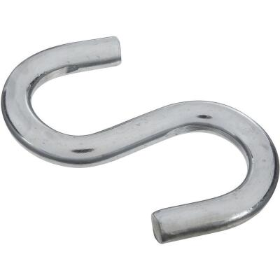 National 3-1/2 In. Zinc Heavy Open S Hook