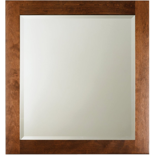 Bertch Brindle 28 In. W x 30 In. H Framed Vanity Mirror