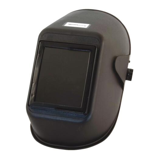 Forney Bandit II Black Polymer Welding Helmet with 5-1/4 In. x 4-1/2 In. Fixed Shade #10