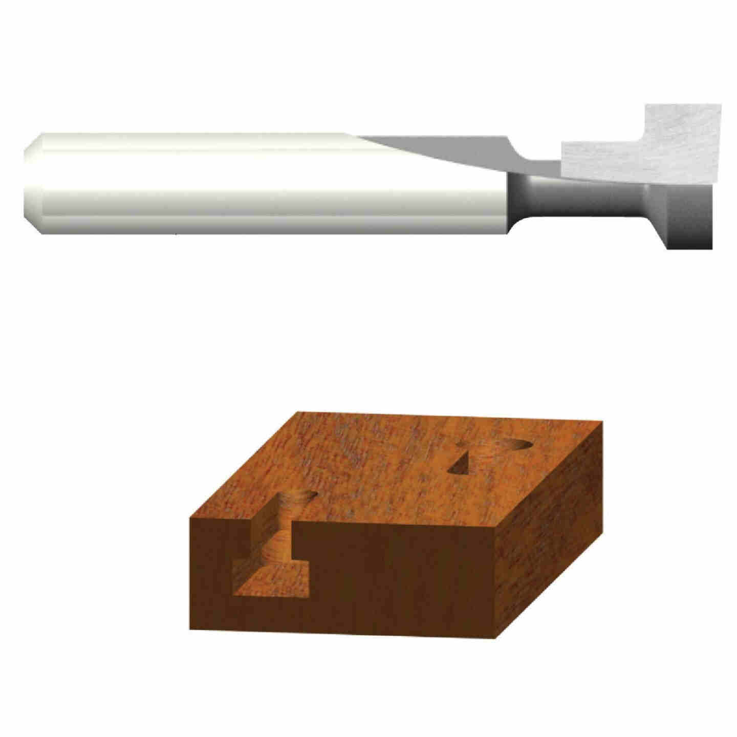 Vermont American Carbide 1/4 In. Key Hole Bit Image 1