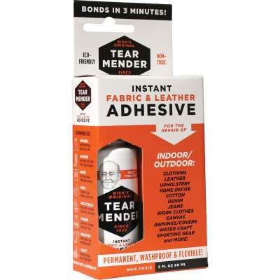 Val A Tear Mender 2 Oz. Leather & Fabric Cement