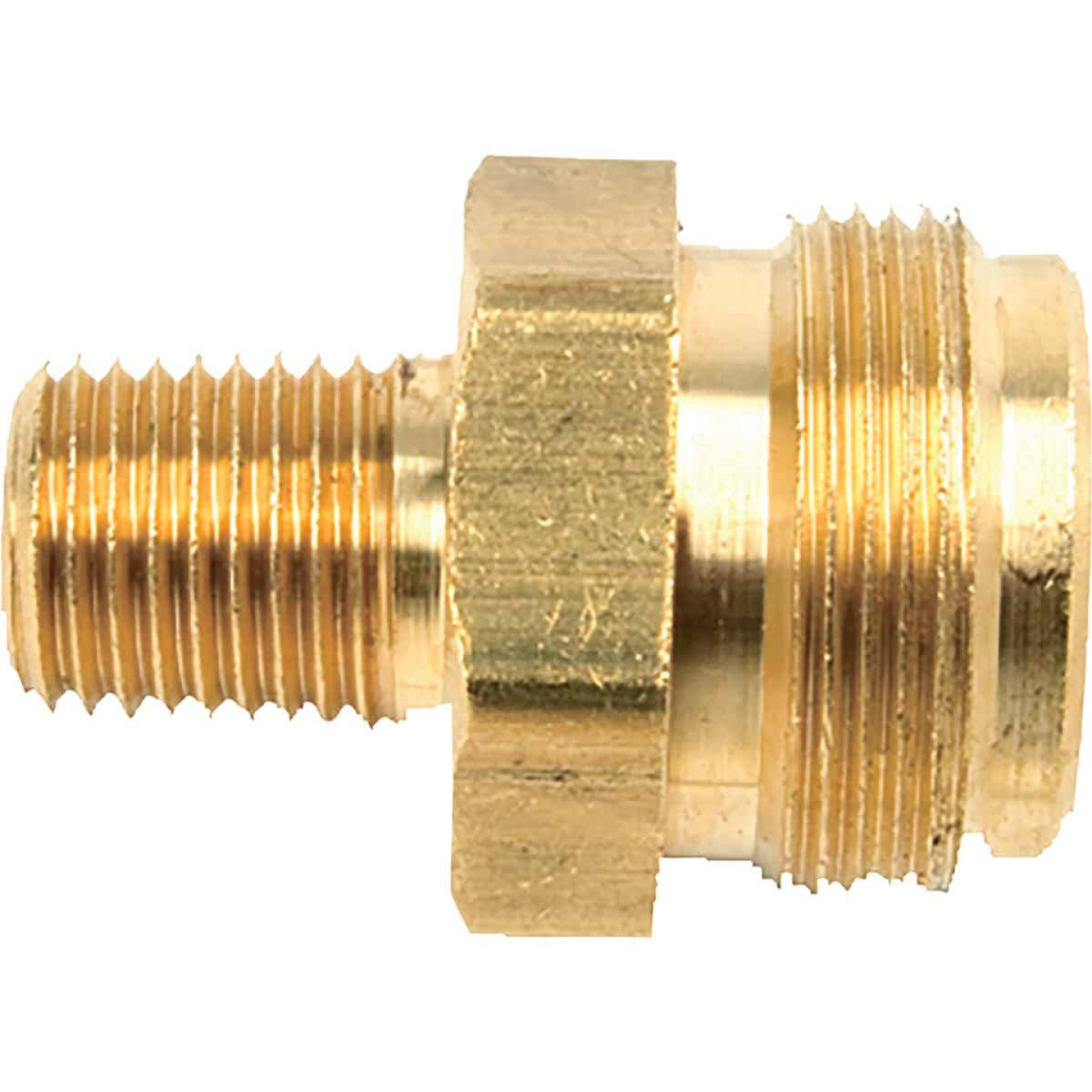 MR. HEATER 1 In.-20 MTCT x 1/4 In. MPT Brass LP Cylinder Adapter Image 1