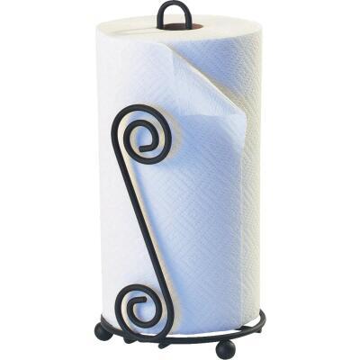 Spectrum Elegant Scroll Countertop Portable Paper Towel Holder