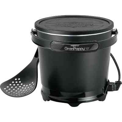 Presto GranPappy 4.5 Qt. Black Aluminum Deep Fryer