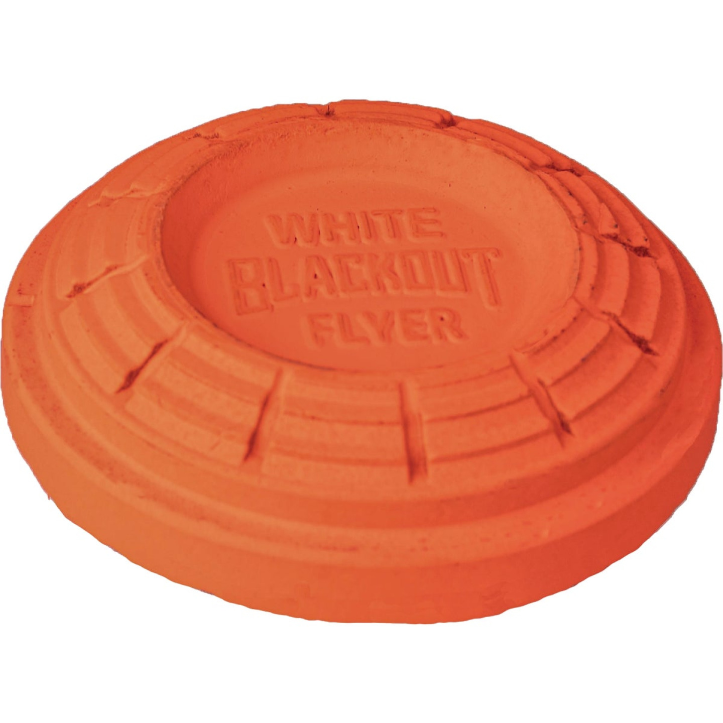 White Flyer Orange Clay Target (135-Pack) Image 1